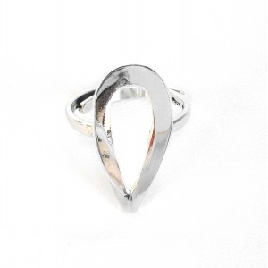 "Sterling silver adjustable ring ""Xochipilli"""