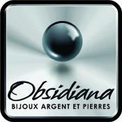 Obsidiana - Bijoux de créateur en Argent massif et Pierres naturelles